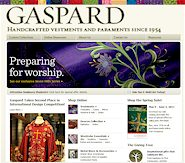 Gaspard - Handcrafted vestments and paraments