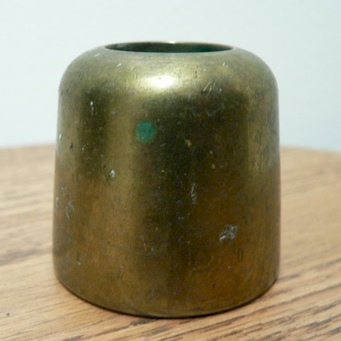 brass candle followers